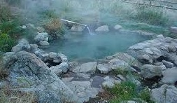 hot springs bath