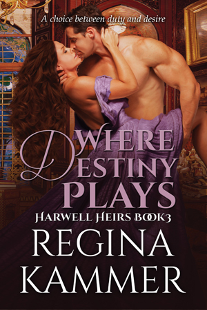 Where Destiny Plays (Harwell Heirs Book 3)